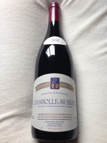 No.92 Domaine Coquard Loison-Fleurot Chambolle-Musigny 2010