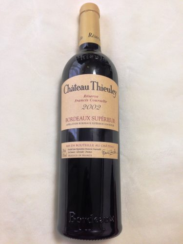 No.58 Chateau Thieuley Reserve Francis Courselle 2002